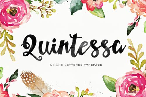 Quintessa is a wonderfully fun and original font