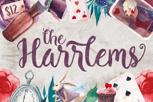 Harrlems! A gorgeous, hand-drawn font