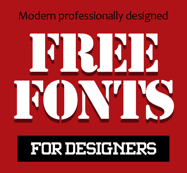 15 Professional New Free Fonts for Designers