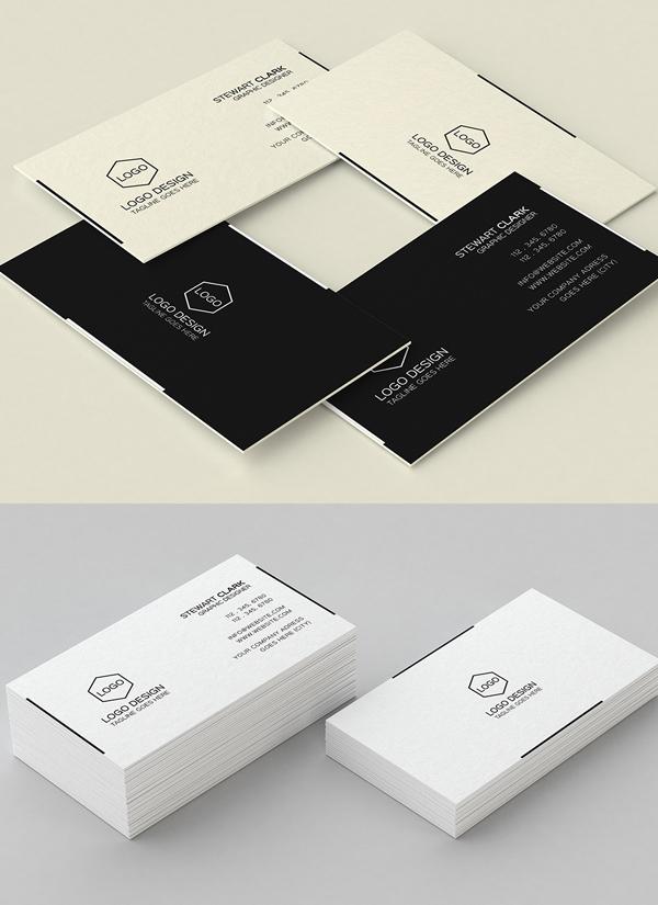 Simple Minimal Business Card Design