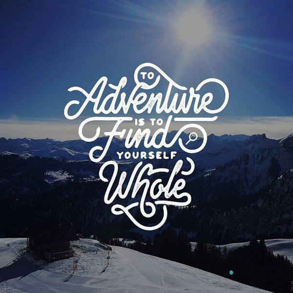 28 Remarkable Lettering & Typography Designs for Inspiration - 13