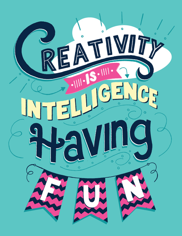 28 Remarkable Lettering & Typography Designs for Inspiration - 15