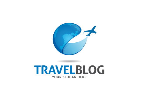 Travel Blog Logo Template
