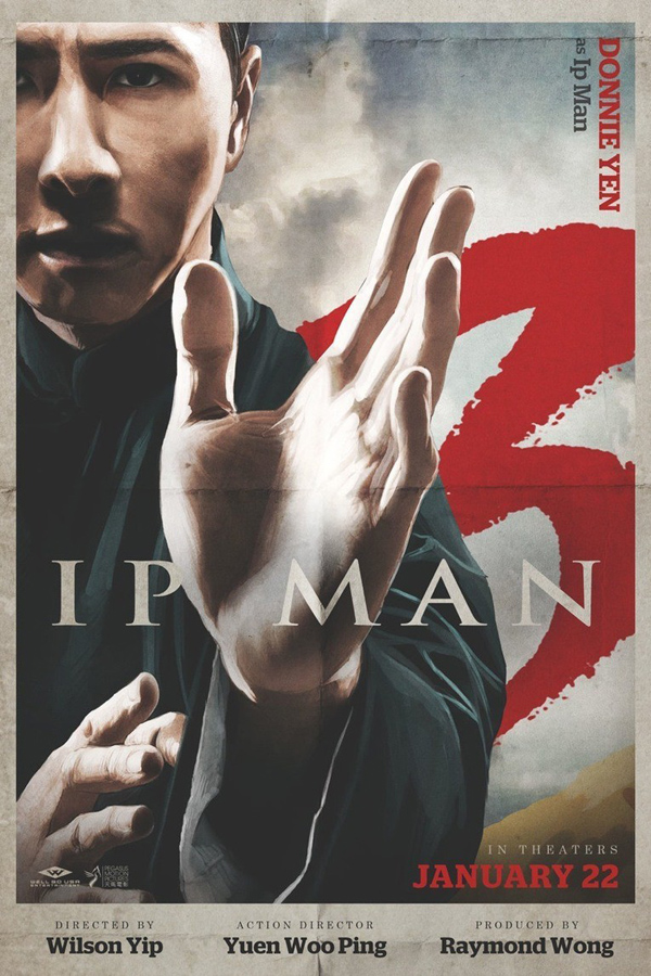 Ip Man 3 Movie Poster