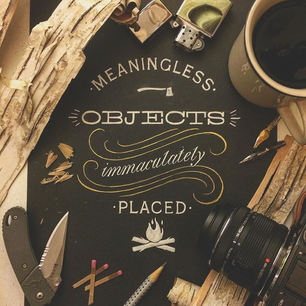 28 Remarkable Lettering & Typography Designs for Inspiration - 25