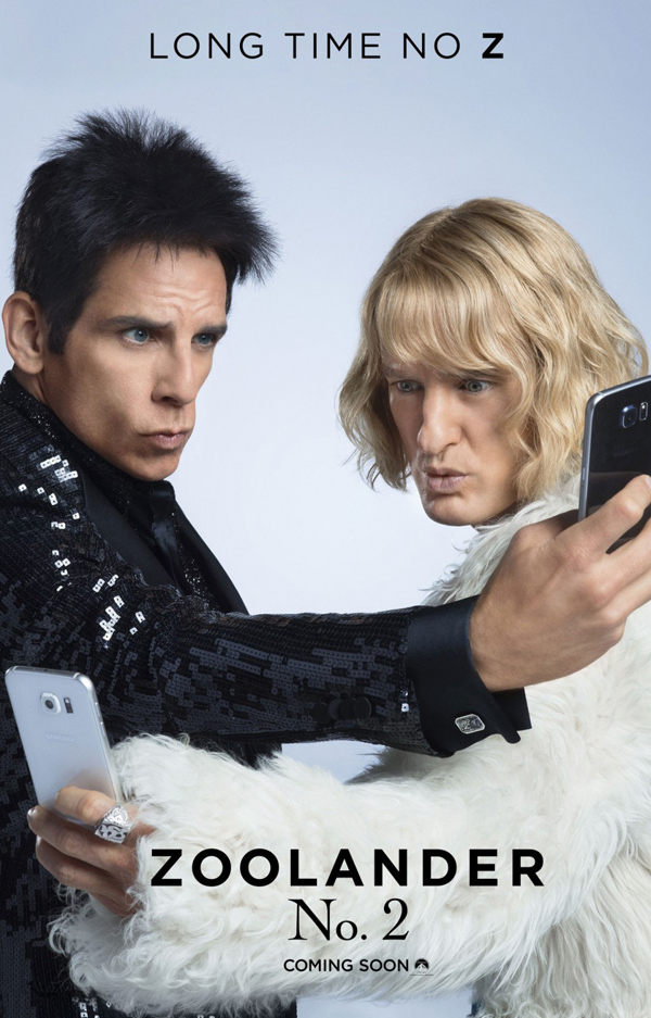 Zoolander No. 2 Movie Poster