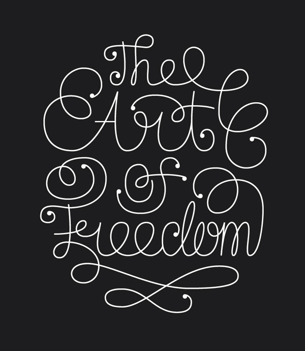 28 Remarkable Lettering & Typography Designs for Inspiration - 5