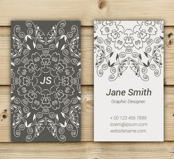 Beautiful Art Business Card Design