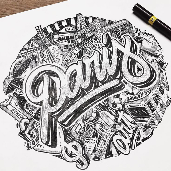 28 Remarkable Lettering & Typography Designs for Inspiration - 6