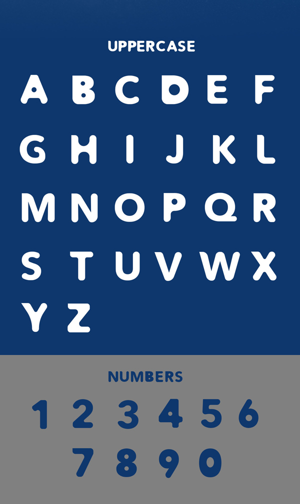 ATIK Font Letters