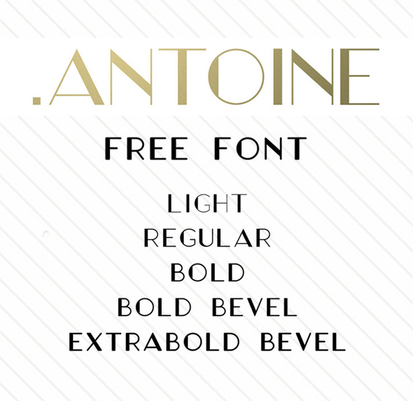 Antoine Free Font