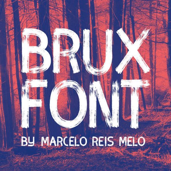 BRUX Free Font