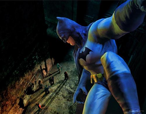 Batman:Vantage Point Illustration by Daniel Murray