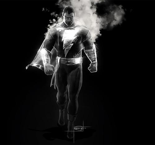Captain Marvel Illustration by Daniel Murray