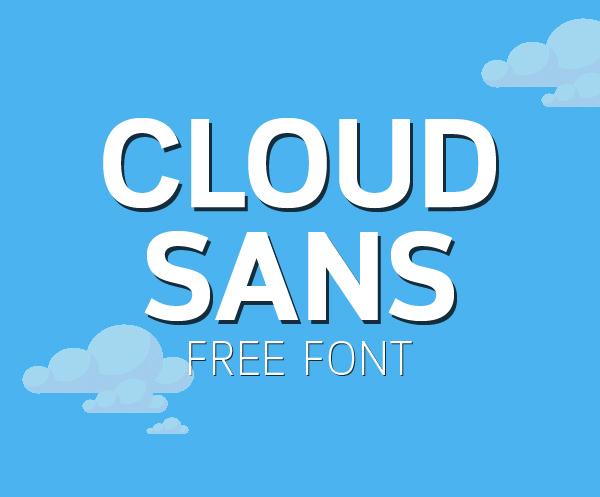 Cloud Sans Free Font