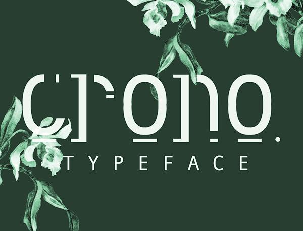 Crono Free Font