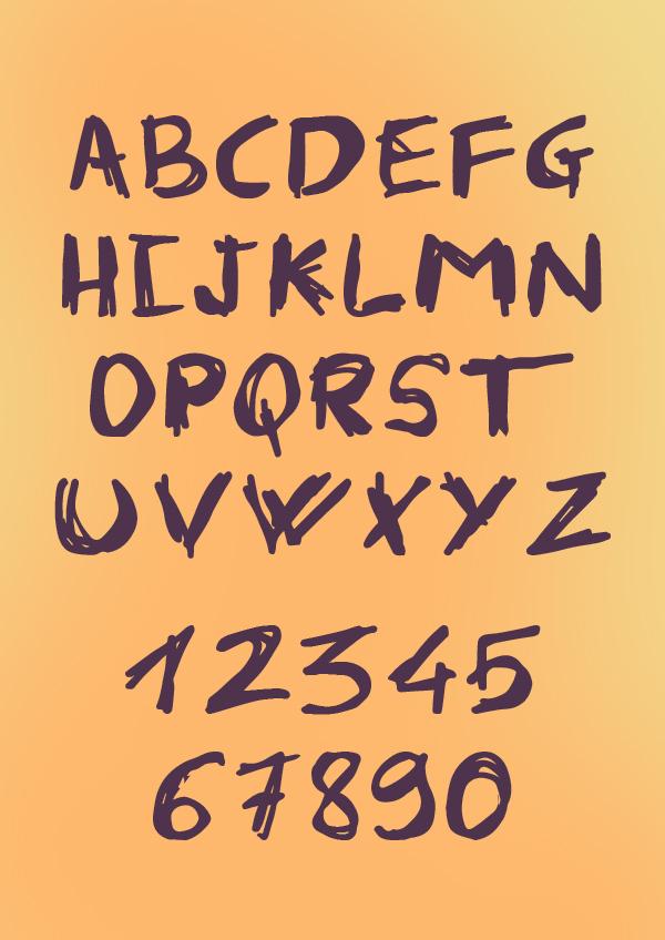 Fabian Font Letters
