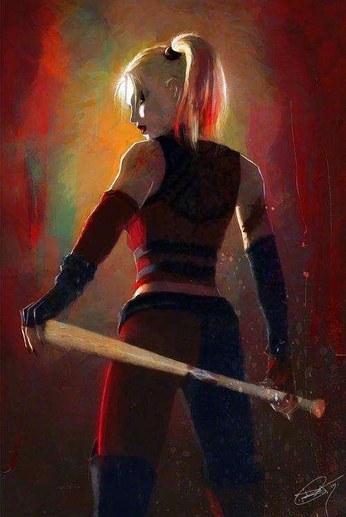 Harley Quinn Illustration by Daniel Murray