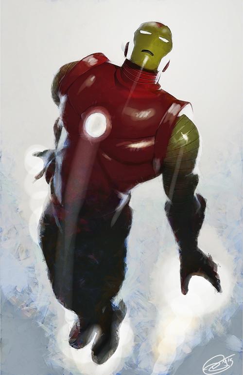Ironman Illustration by Daniel Murray