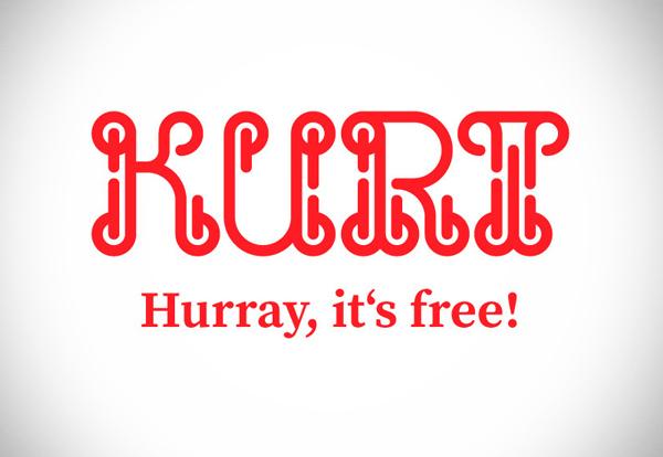 KURT Free Font