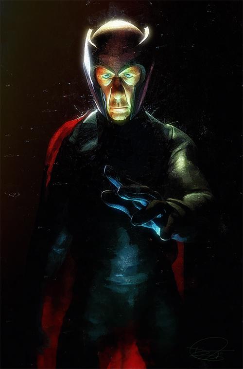 Magneto Illustration by Daniel Murray