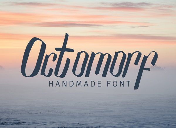 Octomorf Free Font