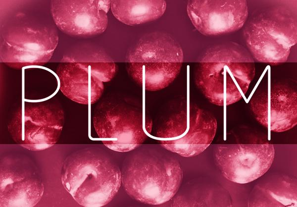 Plum Free Font
