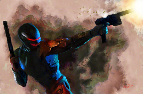 Robocop Illustration by Daniel Murray