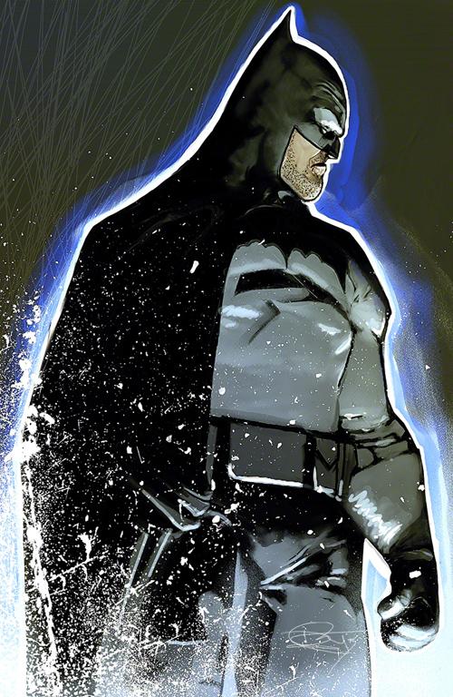 The Batman Illustration by Daniel Murray