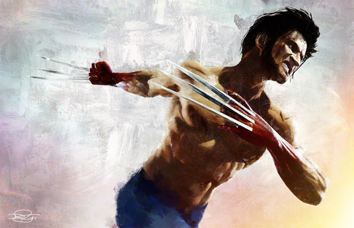 The Wolverine Illustration by Daniel Murray