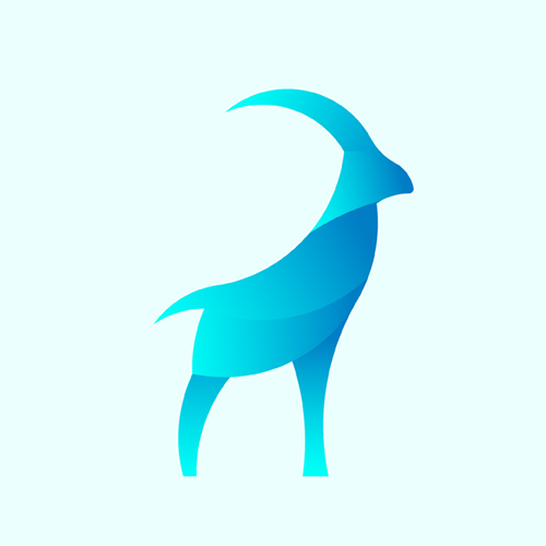 23 Colorful Illustrated Animal Logos - 12