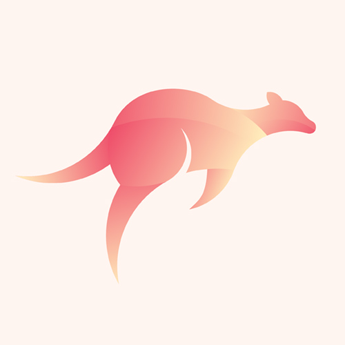 23 Colorful Illustrated Animal Logos - 14