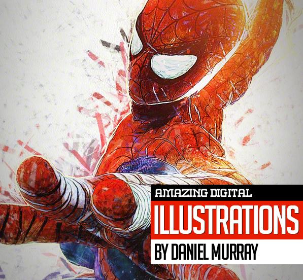 35 Amazing Digital Illustrations by Daniel Murray