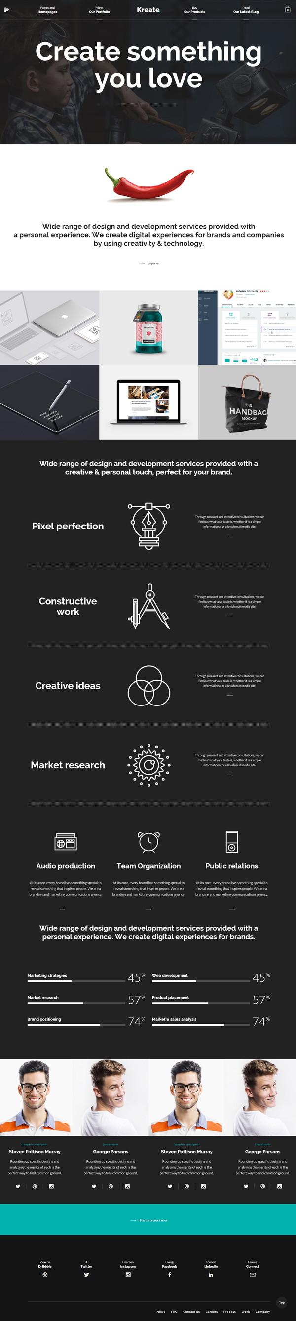 Kreate – Expert Theme for Creative Business