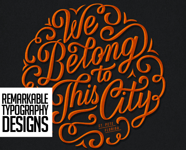 28 Remarkable Lettering & Typography Designs for Inspiration