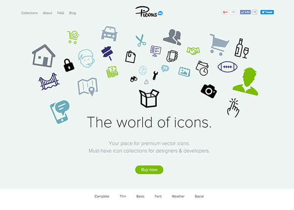 27 Fresh Interactive Web Design Examples - 16