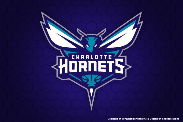 Charlotte Hornets Primary Mark by Ben Barnes