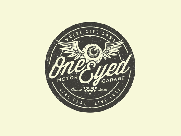 One Eyed Motor Garage by Aaron Deckler