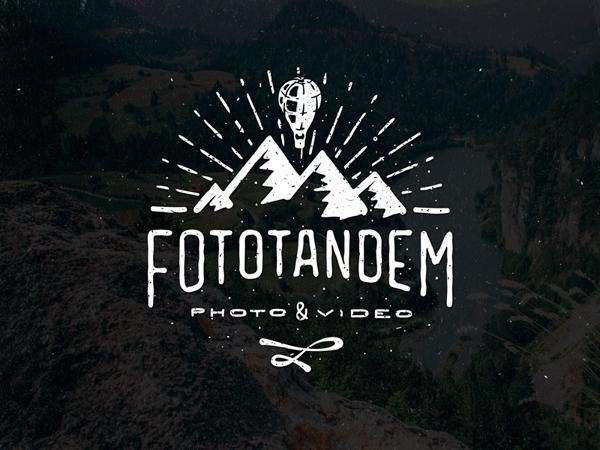 Fototandem logo by Vova Egoshin