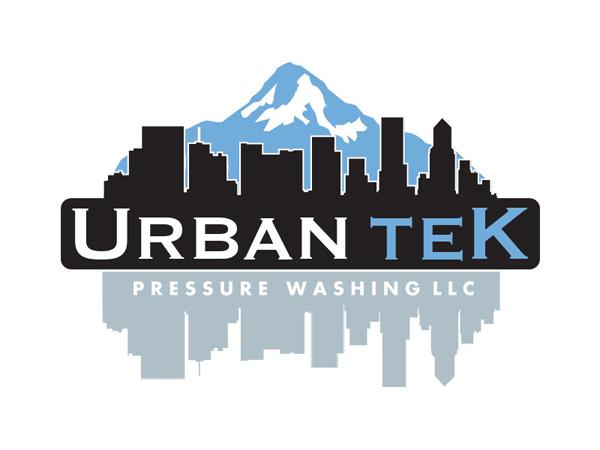 Urbantek Pressure Washing Logo by Mark Boehly