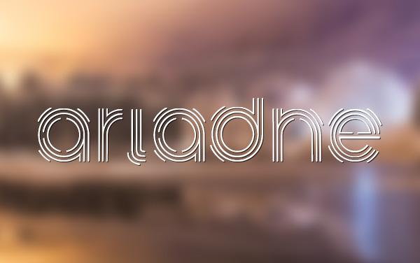 Ariadne Stencil Font - Free Download