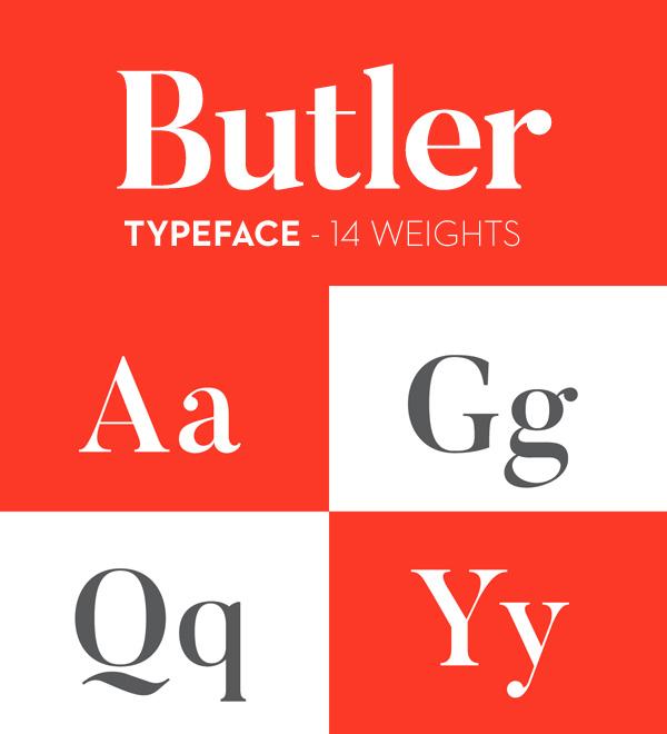 Butler Stencil Font - Free Download