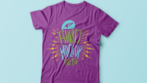 Free Psd Tshirt Mockup Template