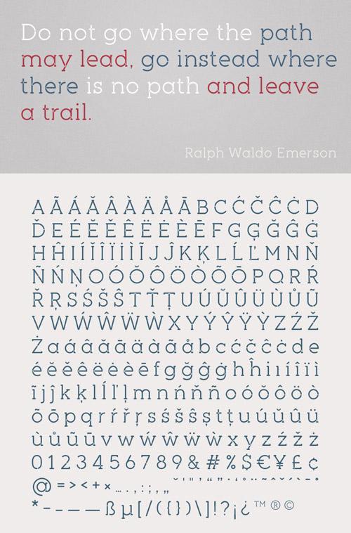 Piron Stencil Font - Free Download