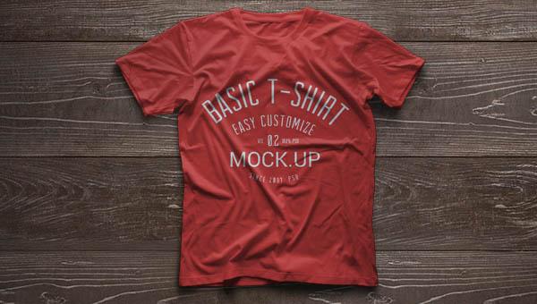 Psd Tshirt Mockup Template