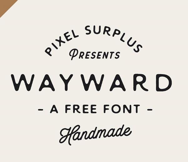 Wayward Free Font