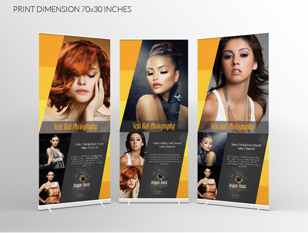 Free Photography Roll-up Banner