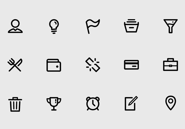 Free Iconset) - SVG, Webfont, PSD, Sketch
