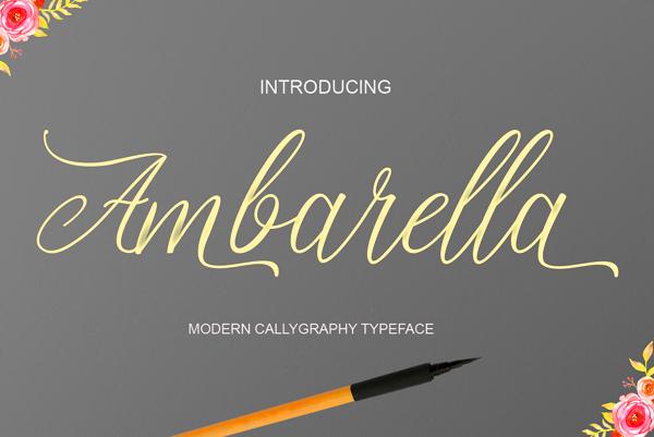 Ambarella Free Font