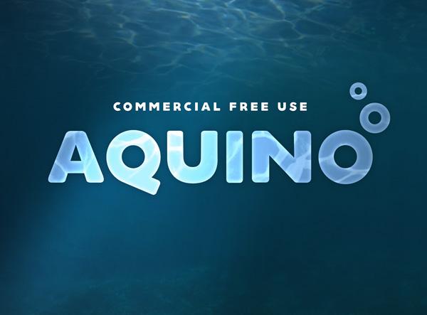 Aquino free fonts
